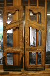 Restaurierung einer historischen Tür
