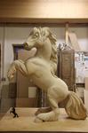 Aufbäumendes Pferd